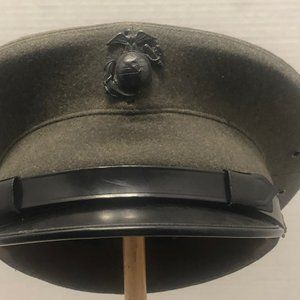 Vintage Green Marine Dress Hat